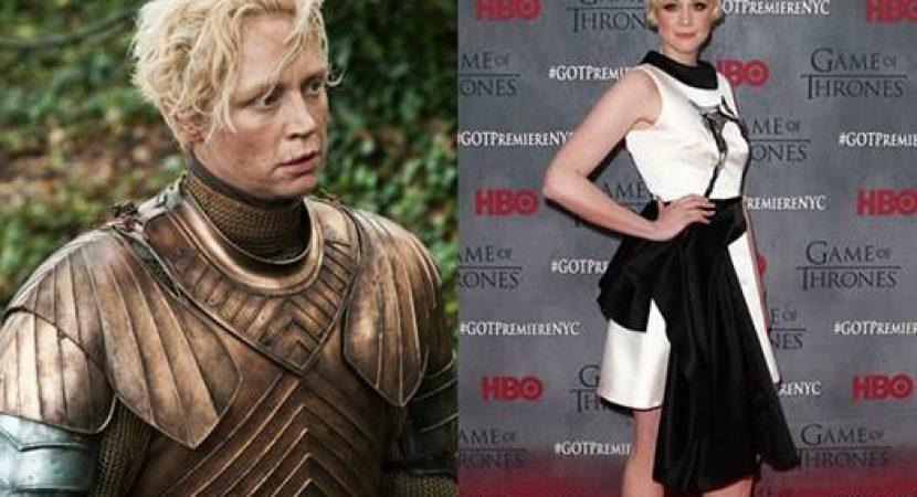 Atriz que fazia Brienne