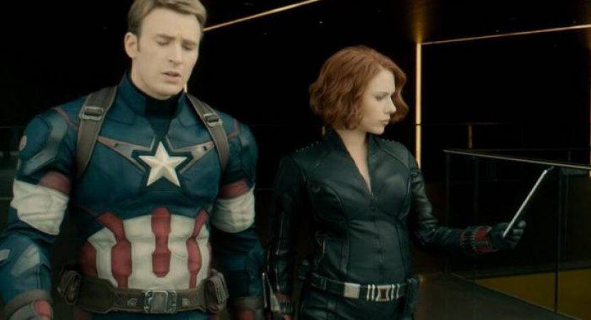 Foto mostra Scarlett Johansson Gravida em Vingadores
