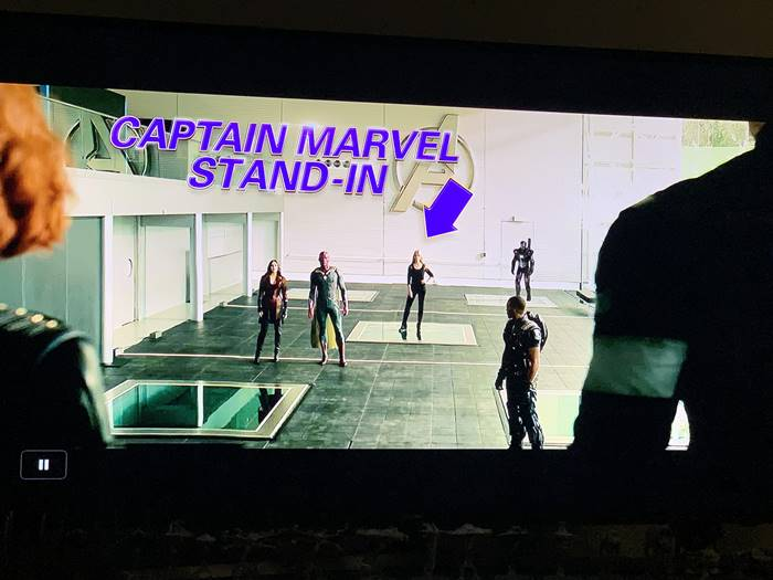 Fotos mostram que Capitã Marvel estaria em Vingadores: Era de Ultron