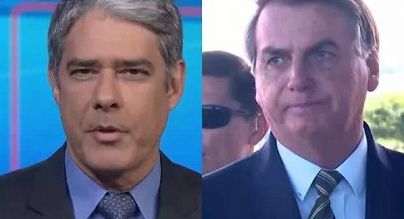 Jornal Nacional Destoe Bolsonaro