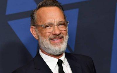 O Ator Tom Hanks foi diagnosticado com Coronavírus