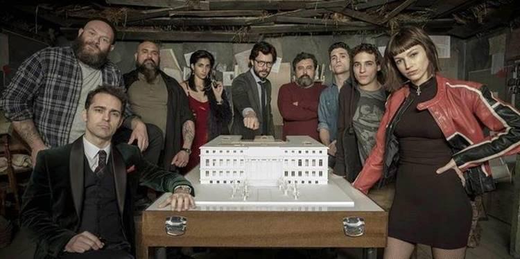 3 Temporada de La Casas de Papel