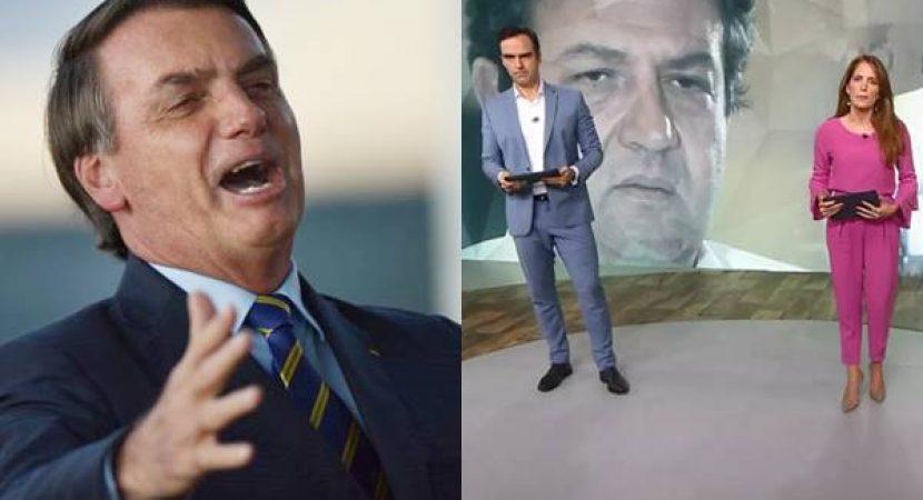 Bolsonaro falou sobre entrevista de Mandetta ao Fantástico