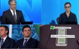 Jornal Nacional se une a Moro para expor Bolsonaro