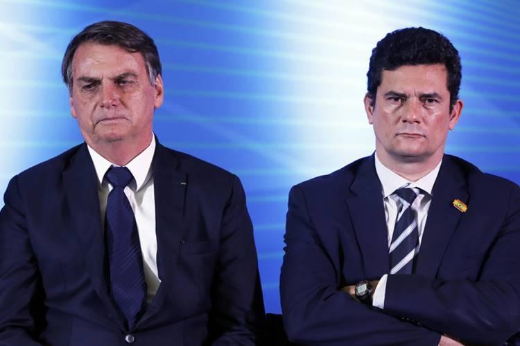 Pronunciamento Bolsonaro ataca Sergio Moro