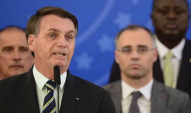Pronunciamento de Bolsonaro na Globo
