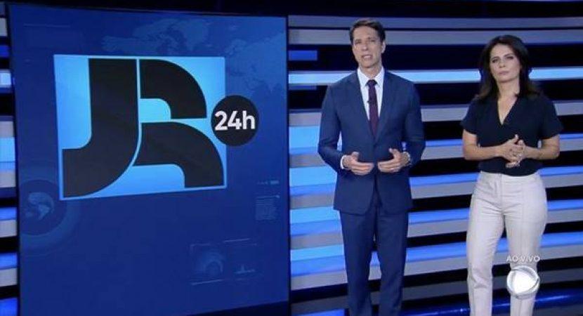 Record estreia o JR 24h