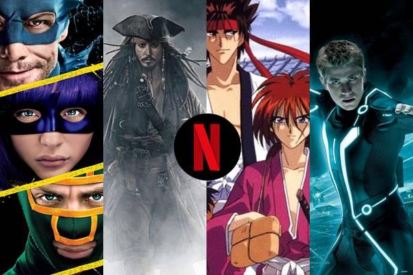 Removidos da Netflix entre 12 a 30 de Abril
