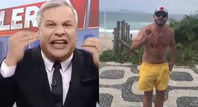 Sikêra Jr detonou jornalista da Globo News