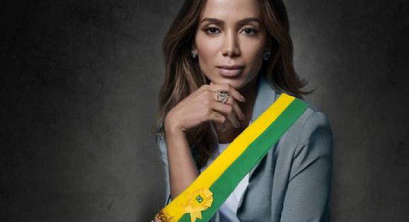 Cantora Anitta diz que quer ser presidente do Brasil