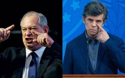Ciro Gomes comenta demissão de Nelson Teich