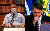 Exames de Bolsonaro para covid-19