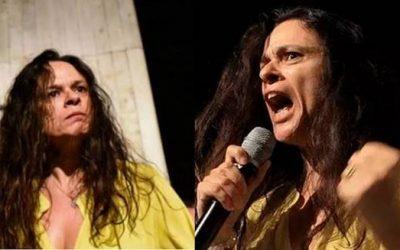 Janaína Pachoal chama Bolsonaro de recalcado