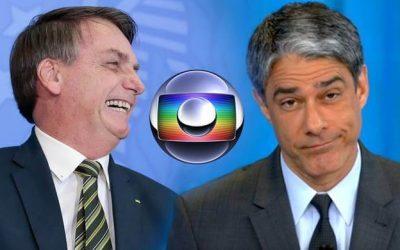 Revoltado Bolsonaro manda recado para Bonner