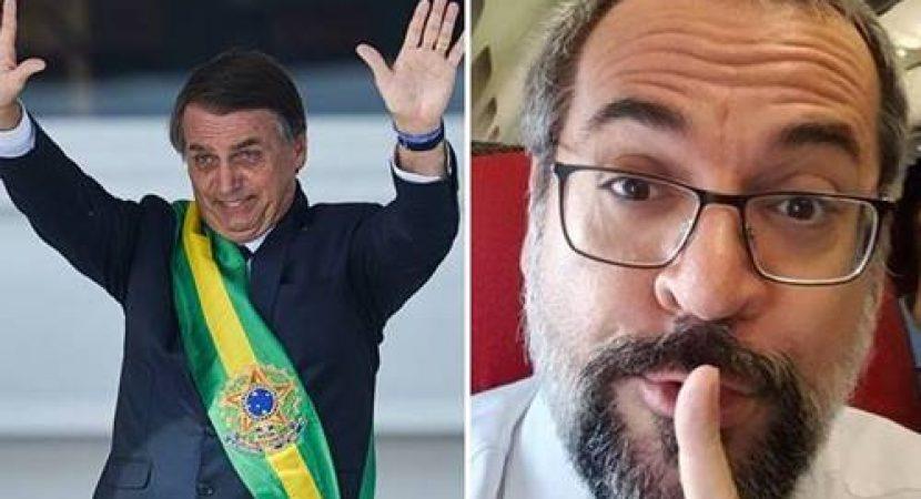 Abraham Weintraub como vice de Bolsonaro