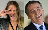 Adriane Galisteu declara apoio ao Presidente