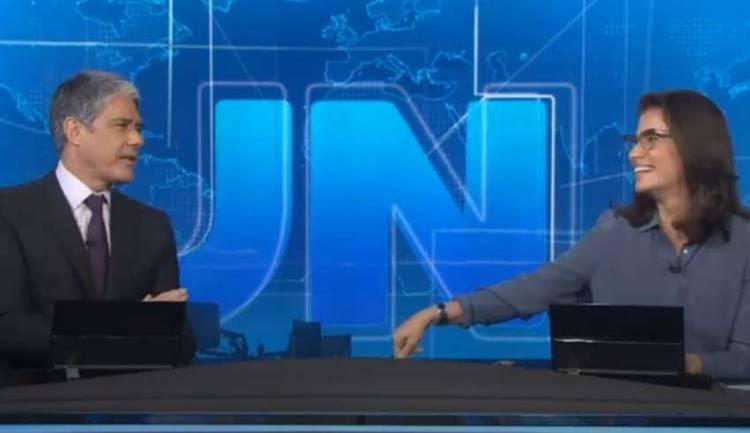 Jornal Nacional é sucesso de audiência