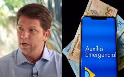 Mario Frias chama auxilio emergencial de esmola