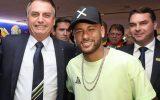 Neymar anuncia que esta fechado com Bolsonaro