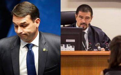 juiz afastado do caso de rachadinhas de Flávio Bolsonaro