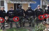 policiais em manifestações dos EUA