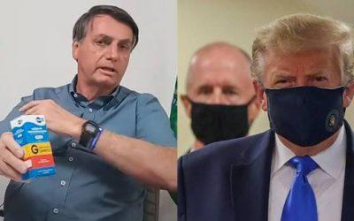 Após Bolsonaro confirmar infecção
