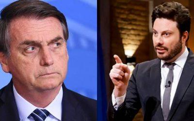 Danilo Gentili revelou que Bolsonaro tentou pedir sua cabeça