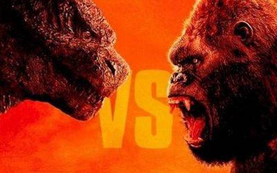 Godzilla vs Kong ganha primeira foto