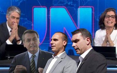 Jornal Nacional revelou rede de Fake News de Bolsonaro