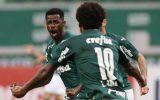 jogo entre Palmeiras x Santo André