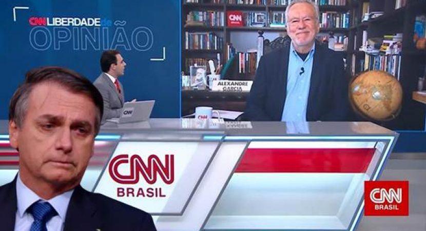 Bolsonarista sai da Globo