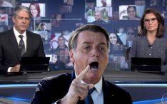 Bolsonaro coloca culpa na Globo