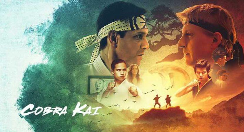 Chegou na Netflix a série Cobra Kai, Temporadas 1 e 2 - Audiência da TV