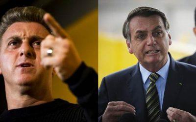 Luciano Hulk esculacha Bolsonaro