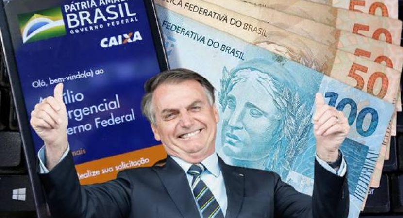 bolsonaro quer acabar com o auxilio emergencial
