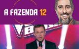 A Fazenda 12 faz história e garante liderança em cima de The Voice Brasil
