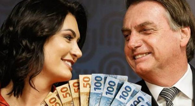 Bolsonaro desvia 7.5 milhões