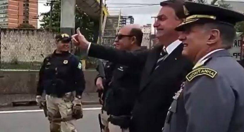 Bolsonaro é humilhado por motorista