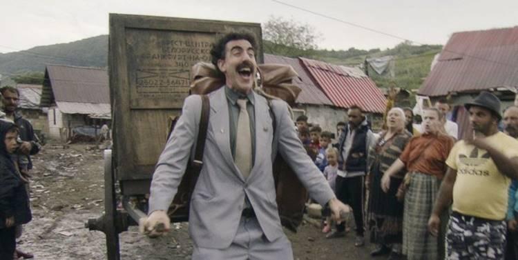 Borat Fita de Cinema Seguinte