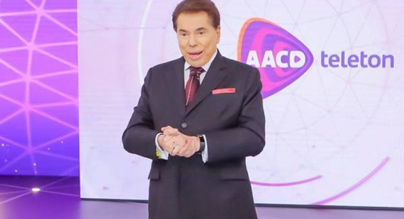 Silvio Santos não deve participar do Teleton