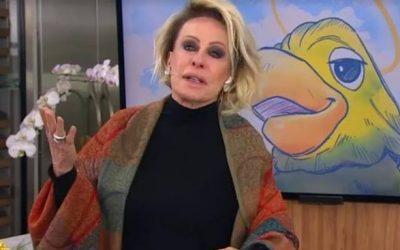 Ana Maria Braga se emociona