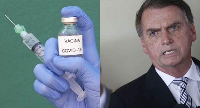 Bolsonaro não quer tomar vacina