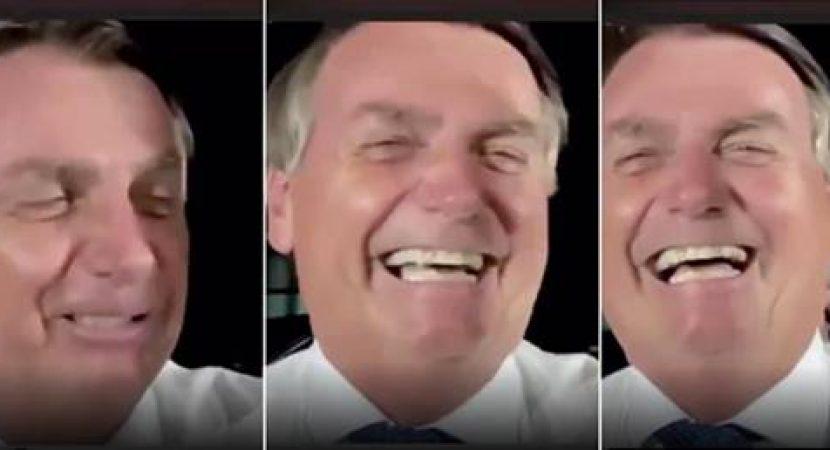 Bolsonaro zomba das vítimas do covid-19
