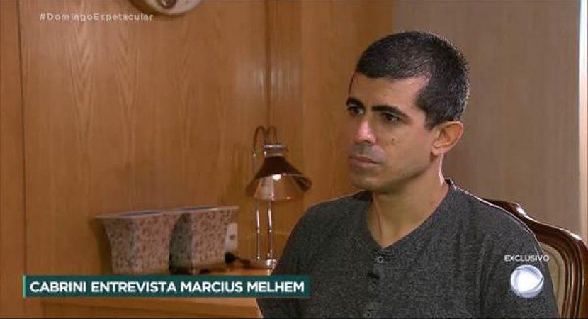 Entrevista com Marcius Melhem no Domingo Espetacular