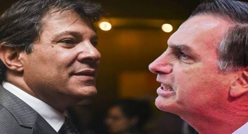 Haddad chama Bolsonaro de Imbecil