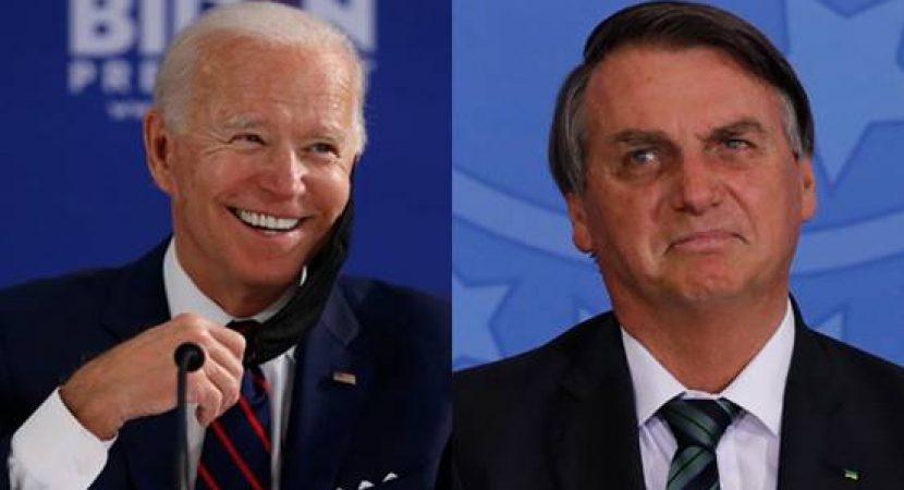Presidente dos Estados Unidos Joe Biden Debocha da cara de Bolsonaro
