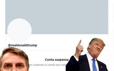 Twitter tira do ar permanentemente conta de Trump