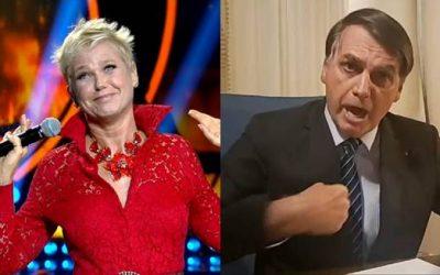 Xuxa diz que Bolsonaro é piada