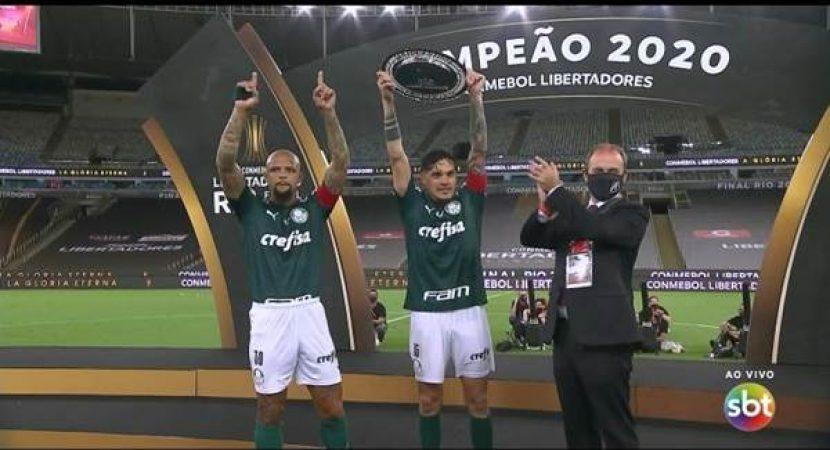 Final da Libertadores no SBT