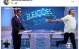 Haddad zomba de Bolsonaro usando meme
